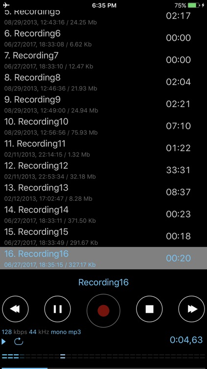 Dictaphone - Voice Dictation screenshot-3
