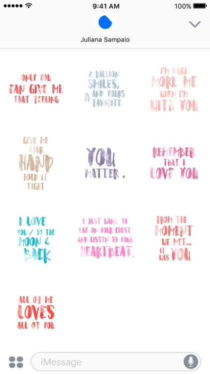 Lovely Watercolor Quotes screenshot-3