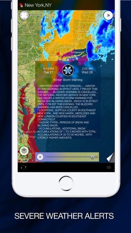 Radar MAX: NOAA Weather radar screenshot-3