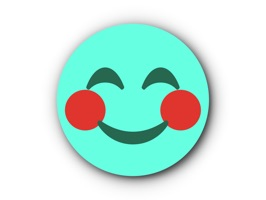 99 turquoise emoticons stickers for iMessage