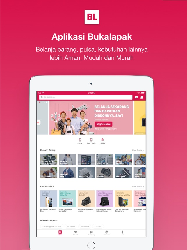 Bukalapak jual beli online on the app store bukalapak jual beli online on the app store stopboris Image collections