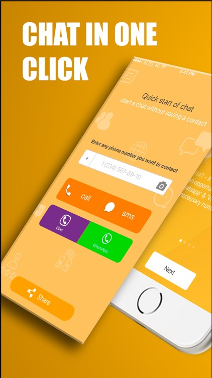 FastChat - one tap to chat