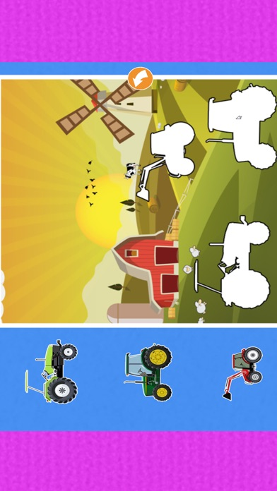 Vehicle kids learning : car and truck puzzle games screenshot four