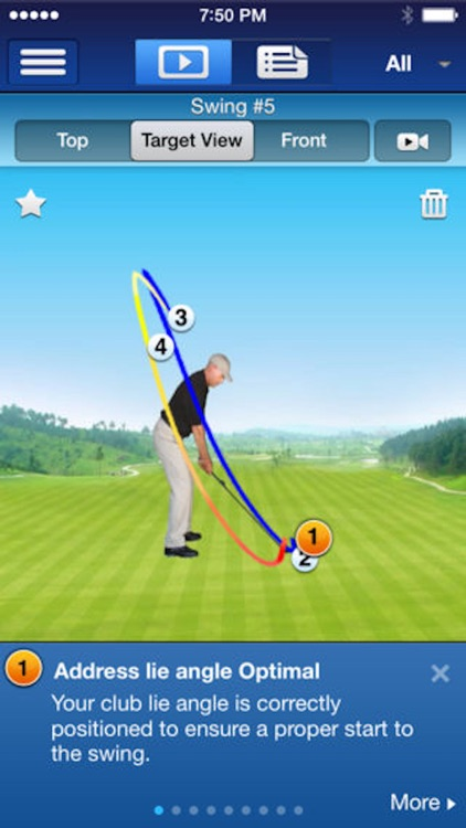 SwingTIP Golf Swing Analyzer screenshot-3