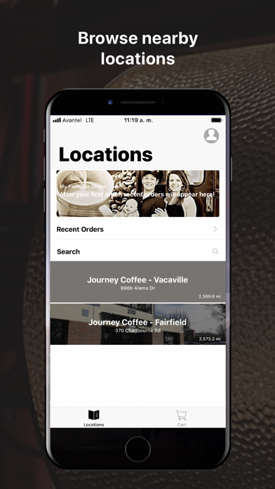 Journey Coffee Co. screenshot two