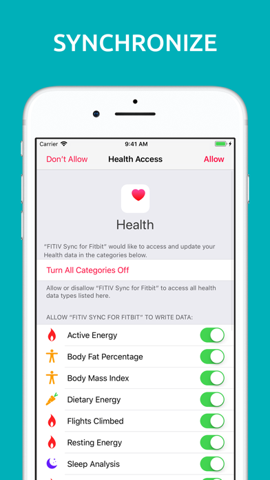 FITIV Sync for Fitbit Activity app image