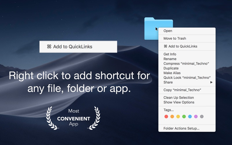 퀵 링크 - 바로 가기 작성기 Shortcuts 앱스토어 스크린샷
