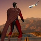 Flying hero Rescue Plane crash icon