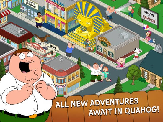 Family Guy The Quest for Stuff Screenshots