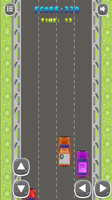 Colorful Cars Speedy Car Racing Screenshot