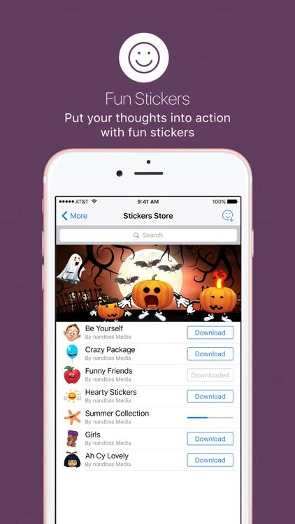 nandbox Messenger - Chat screenshot-5