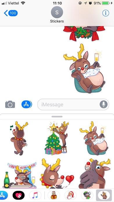 Christmas Mr Deer Sticker 2019 screenshot 2