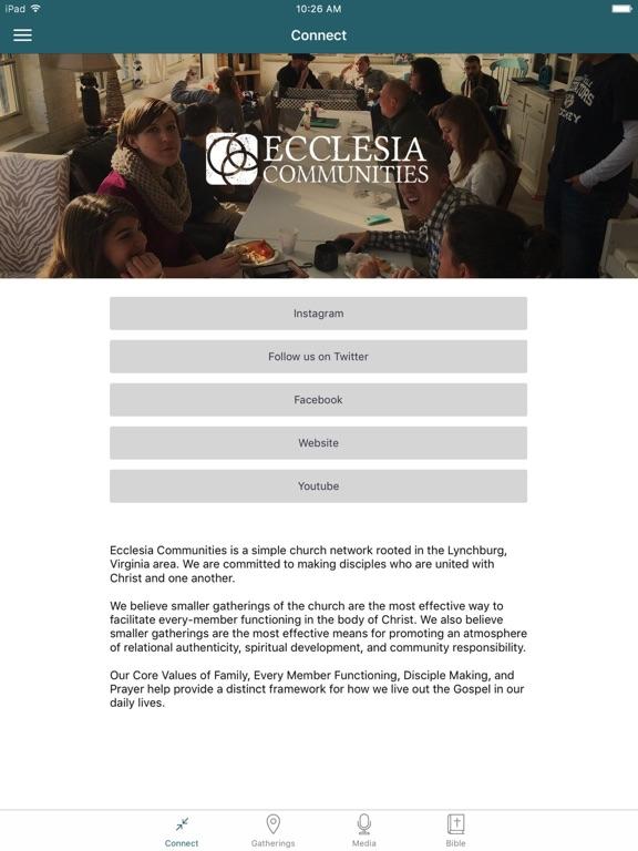 Ecclesia Communities screenshot 5