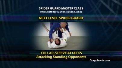 BJJ Spider Guard Vol 4 Screenshot
