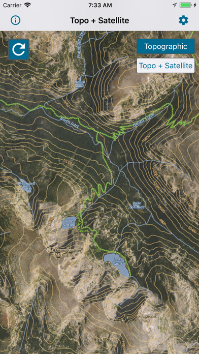 Topographic Maps & Trails screenshot 9