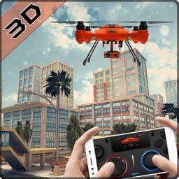 Drone QuadCopter Flight Strike