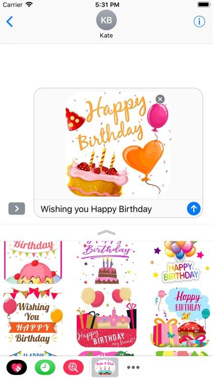 Birthday Greeting Wishes Card screenshot-4