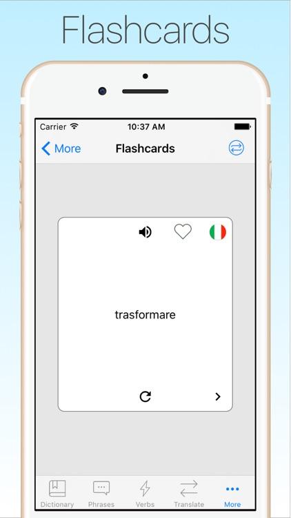 Italian Dictionary & Translator + screenshot-4