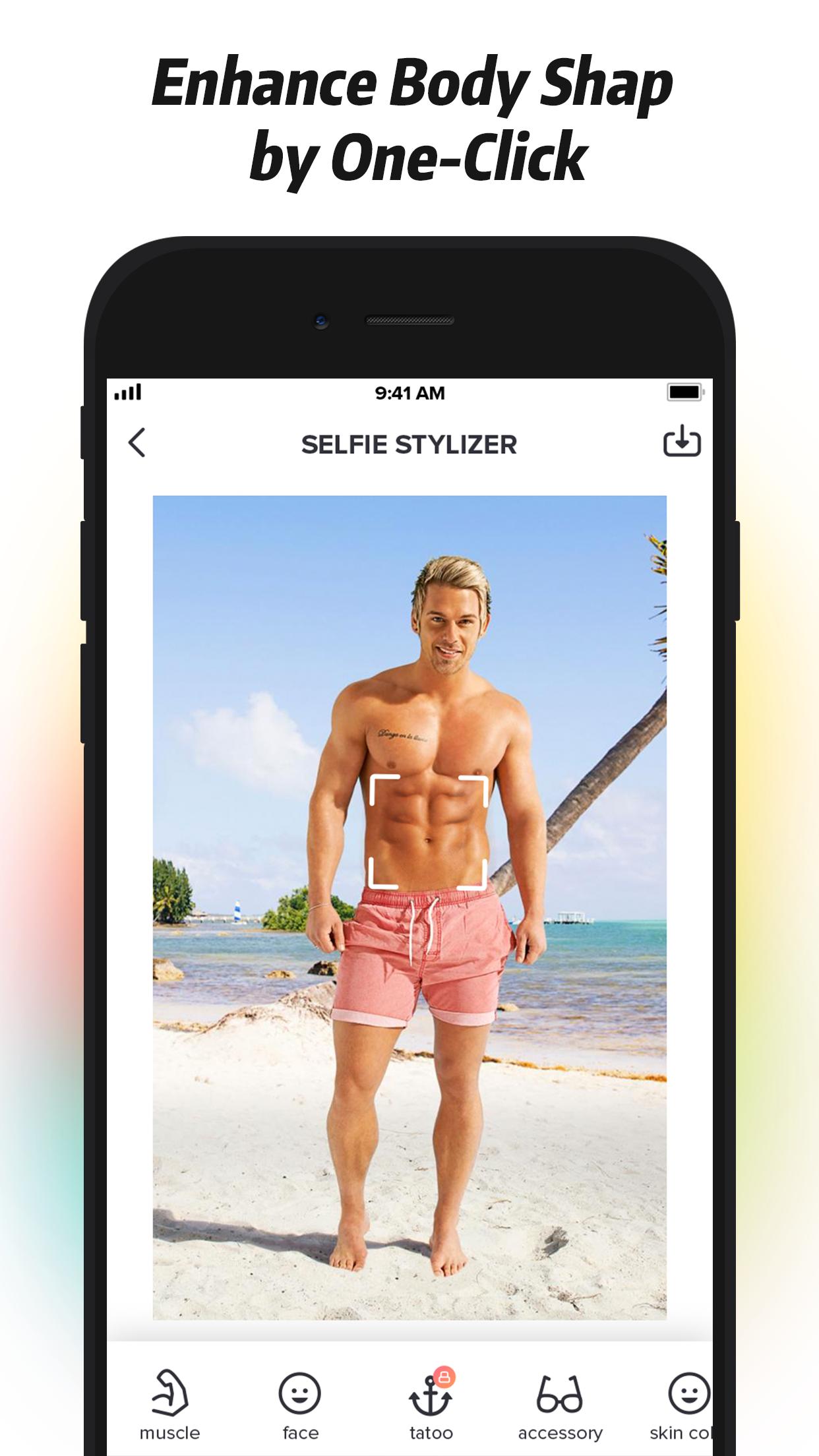 Selfie Stylizer Screenshot