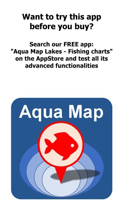Aqua Map Nebraska Lakes GPS HD screenshot-0