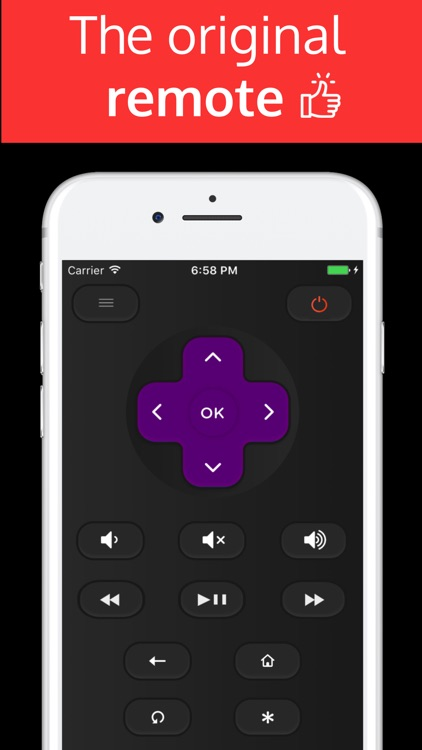 TCLee : Remote for TCL ROKU TV screenshot-1