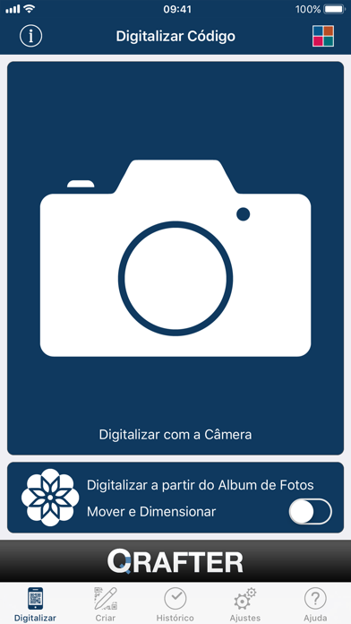 Screenshot for Qrafter Pro - Código QR in Brazil App Store