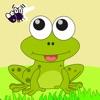 大眼蛙吃蚊子