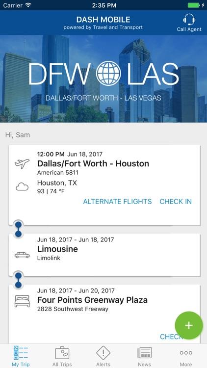 Dash Mobile Travel & Transport screenshot-0