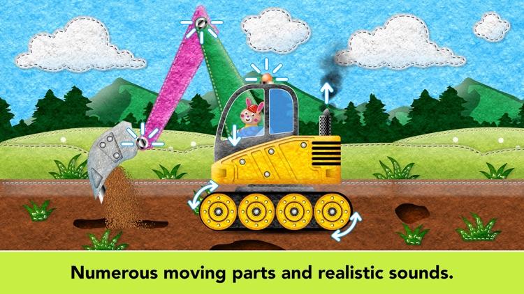 Kids Vehicles Fire Truck games screenshot-9
