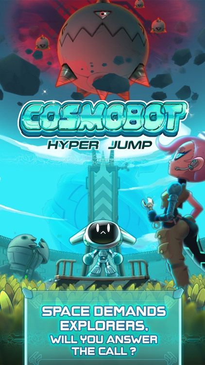 Cosmobot – Hyper Jump screenshot-0