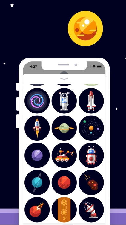 Space Sticker Collection