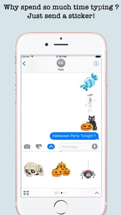 Halloween Emojis For iMessage screenshot-4