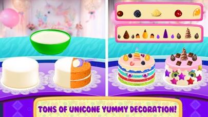 Unicorn Food Party Cake Slushy screenshot