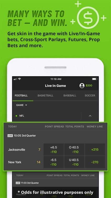 DraftKings Sportsbook screenshot-2