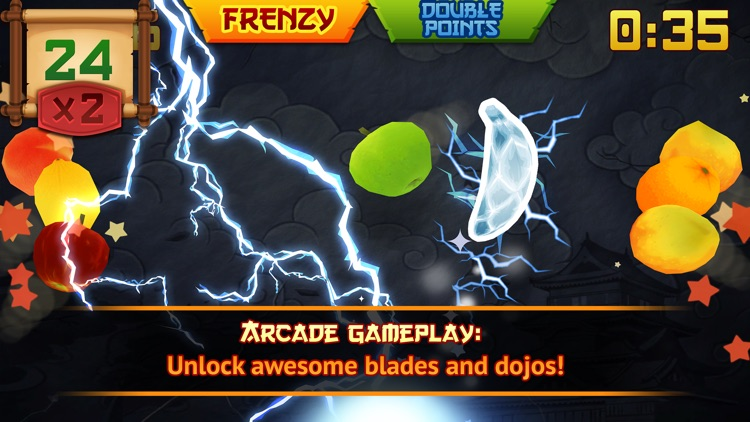 Fruit Ninja Classic screenshot-1