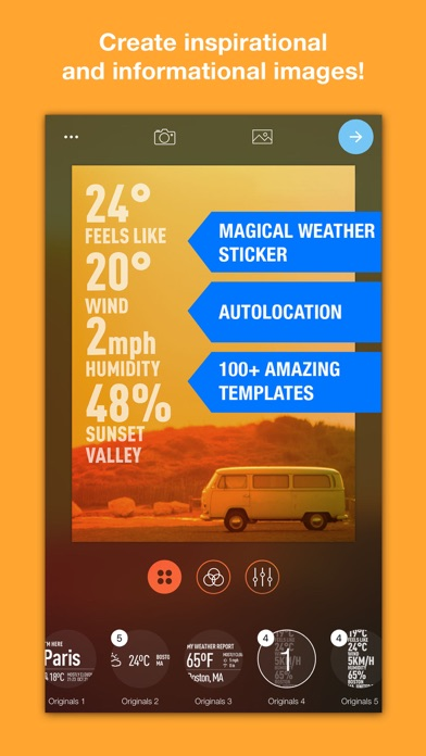 WeatherShot Pro Screenshots