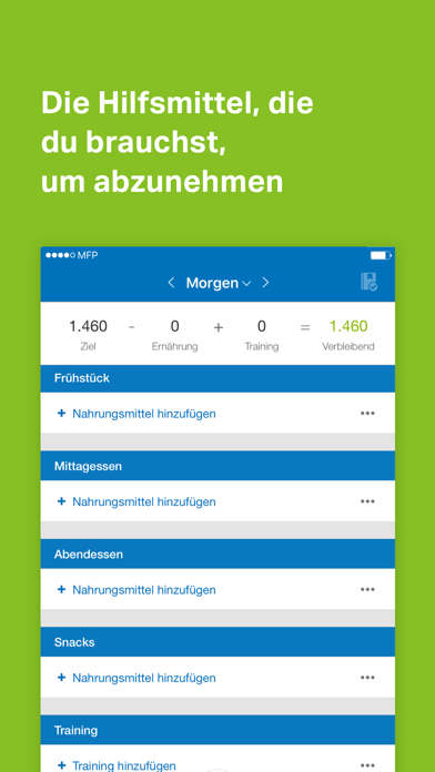 Screenshot for MyFitnessPal in Austria App Store