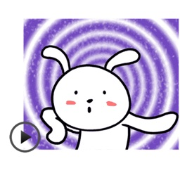 Animated Funny Rabbit Sticker