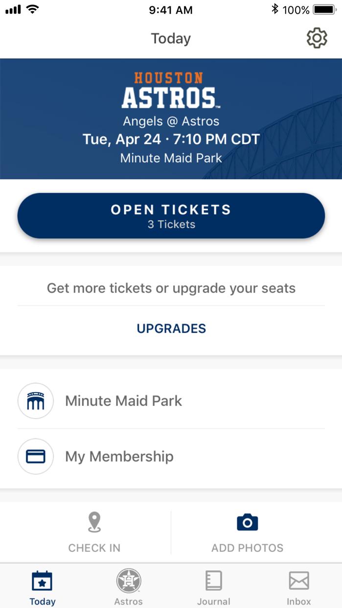 MLB Ballpark Screenshot