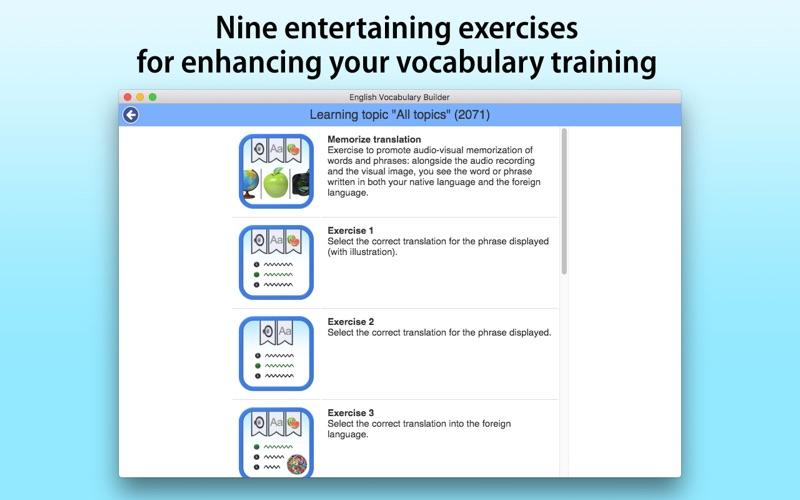 English Vocabulary Builder screenshot 4