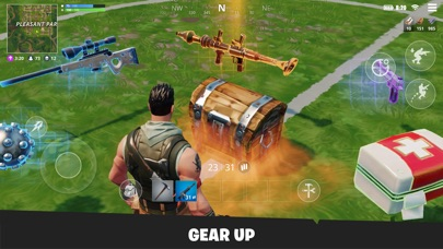 Screenshot of Fortnite App