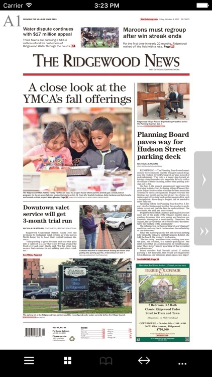 The Ridgewood News Print