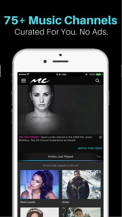 Music Choice - Listen & Watch screenshot-0