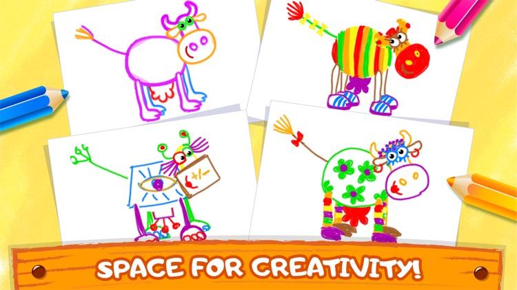 Bini Coloring & Drawing Games screenshot-6