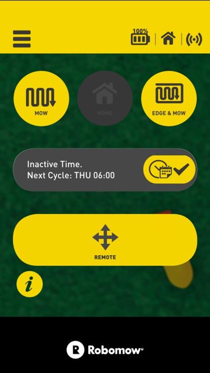 Robomow App.