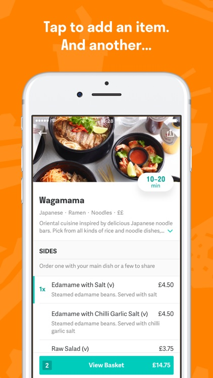 Deliveroo screenshot-2