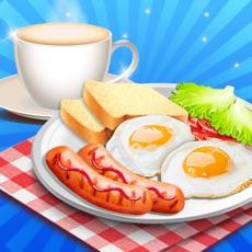 Activities of Breakfast Cooking Time - Kitchen Restaurant