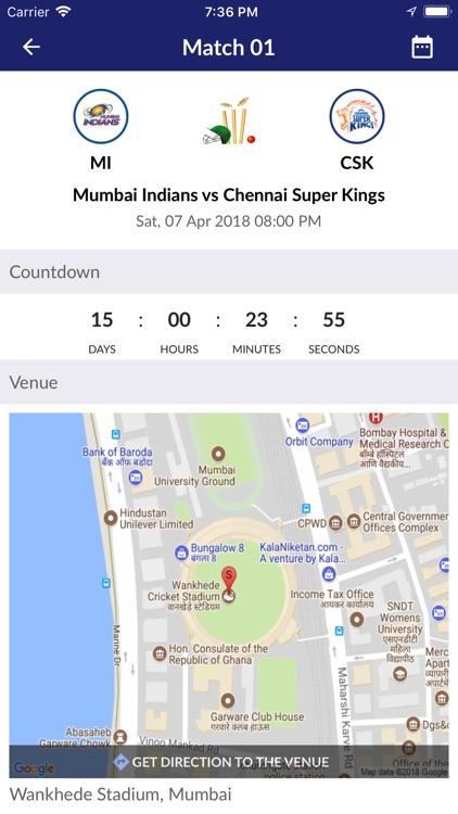 IPL 2k18 Live Score screenshot-7
