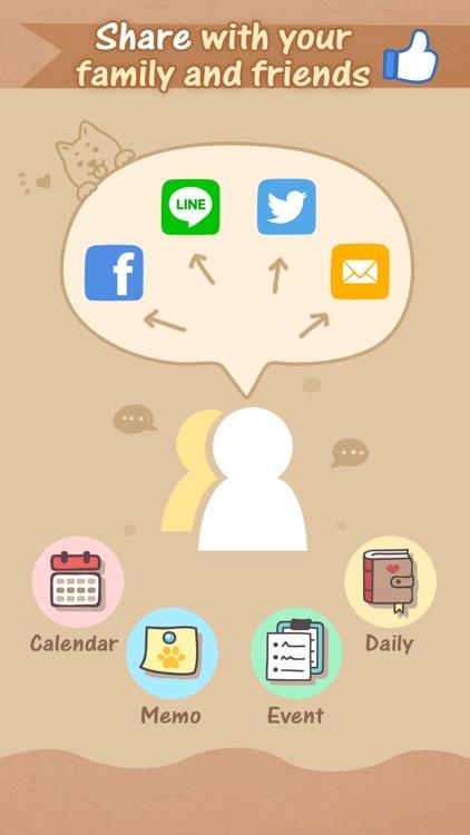 Dog's Life Calendar 狗狗‧生活日誌 screenshot-3