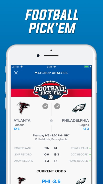 CBS Sports App Scores & Stats screenshot-4